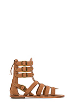 Nomad Sandal in New Nude & Sand