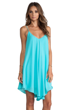 x REVOLVE Modern Love Dress in Aqua