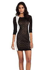 Alexis Dress in Black & White