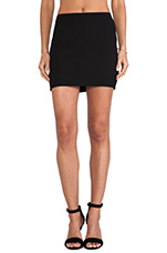 Teeny Tiny Skirt in Black