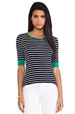 Touchback Top in Green