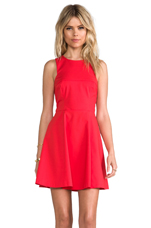 Nolan Skate Dress in Red
