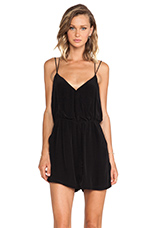 Emilia Playsuit in Black