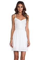 Abelia Challis Mini Dress in White