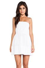 Megalyn Strapless Dress in White