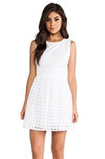 Macall Mini Dress in White
