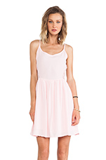 Reed Tank Dress in Crystal Rose