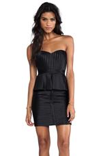 Karina Strapless Dress in Black