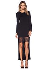 Knit Dress in Black