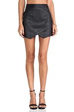 Envelope Skirt in Black