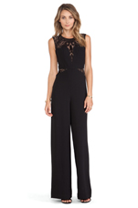 Laden Jumpsuit in Black