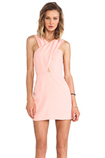 Honour Cut Out Dress in Peach