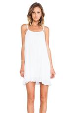 Flirty Tank Dress in White