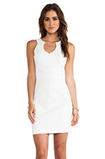 McGowen Mini Dress in Natural White
