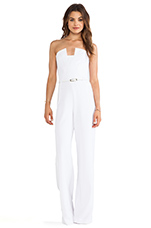 X REVOLVE Lena Jumpsuit in White