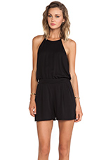 Naomi Romper in Black