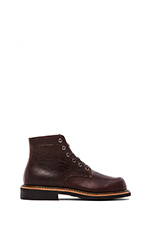 Davis Boot in Oxblood