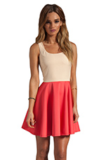 Dress in Nude/Coral