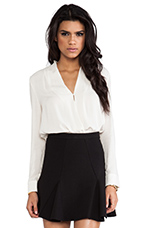 Blouse in Ivory