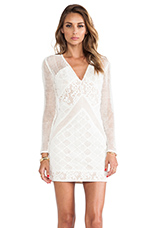 Barbados Dress in Ivory