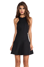Distortion Dress in Black