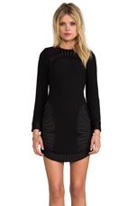 Palm Dress in Black