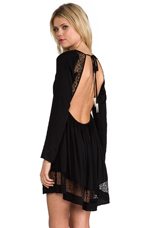 x REVOLVE Long Sleeve Insight Dress in Black