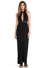 Points Maxi in Black