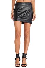 Fracture Skirt in Black