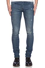 Jeans 25 in Frost Blue