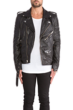 Leather Jacket 5 in Black
