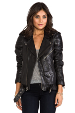 Leather Jacket 8 in Black