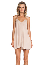 BLQ Basics Tank Dress in Nude