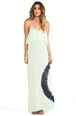Summer Lovin' Maxi Dress in Key Lime Tie Dye