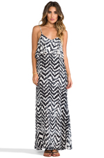 Summer Lovin' Maxi Dress in Aztec Tie-Dye