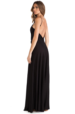 Sunbeam Maxi Dress in Black