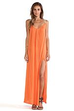 Festival Maxi Dress in Coral