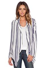 Easy Breezy Jacket in Navy Stripe