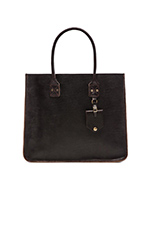 No. 235 Leather Tote in Java