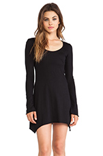 Light Weight Jersey Tunic in Black