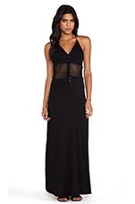 Supreme Jersey Maxi Dress in Black