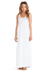 Supreme Jersey Tank Dress in White