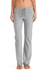 Wide Leg Sweatpant in Thunder