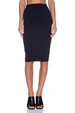Spandex Pencil Skirt in Black