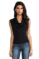 Mickie Skinny Crop with Zippers in Lust For Life