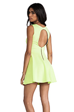Avery Dress in Lime
