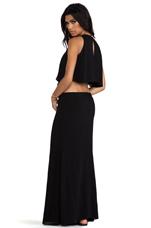 Cinthya Long Dress in Black