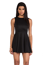 Avery Tank Dress in Black
