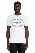 Party Animal Tee in White