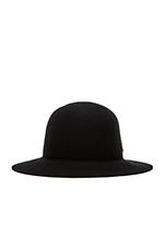 Cason Top Hat in Black